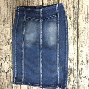 tribal. jeans Women's Denim Casual Pencil Skirt S